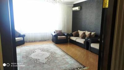 Bakı şəhəri, Nərimanov rayonunda, 3 otaqlı yeni tikili kirayə verilir (Elan: 141220)