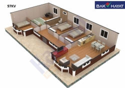 Bakı şəhəri, Abşeron rayonu, Masazır qəsəbəsində, 4 otaqlı ev / villa satılır (Elan: 193821)