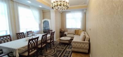 Bakı şəhəri, Nəsimi rayonu, 4-cü mikrorayon qəsəbəsində, 3 otaqlı yeni tikili satılır (Elan: 158360)