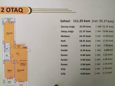 Xırdalan şəhərində, 2 otaqlı yeni tikili satılır (Elan: 140435)