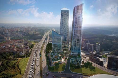 İstanbulun göydələn tipli ən hündür yaşayış kompleksi