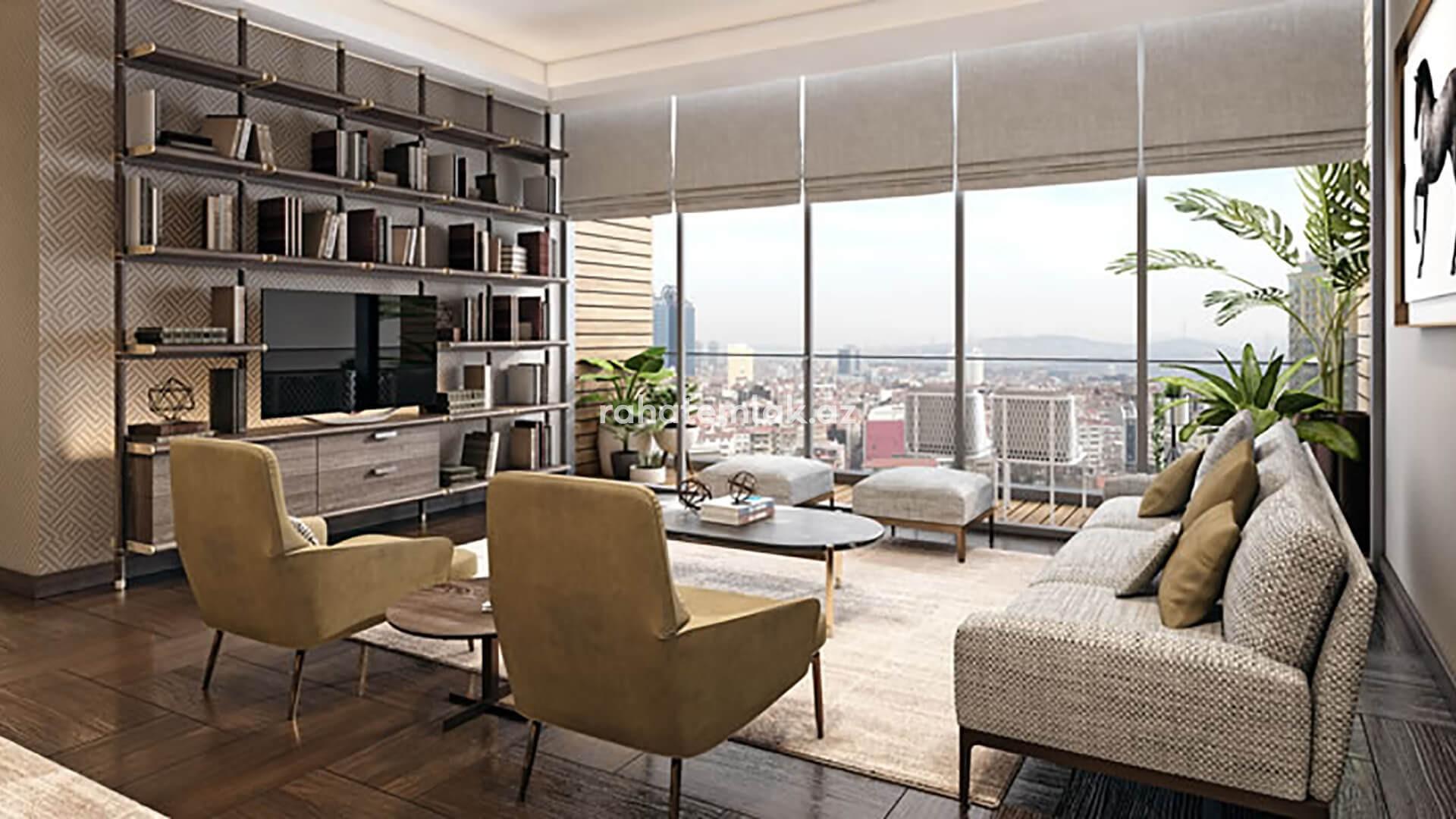 Sisli's last skyscraper residence with Bosphorus views