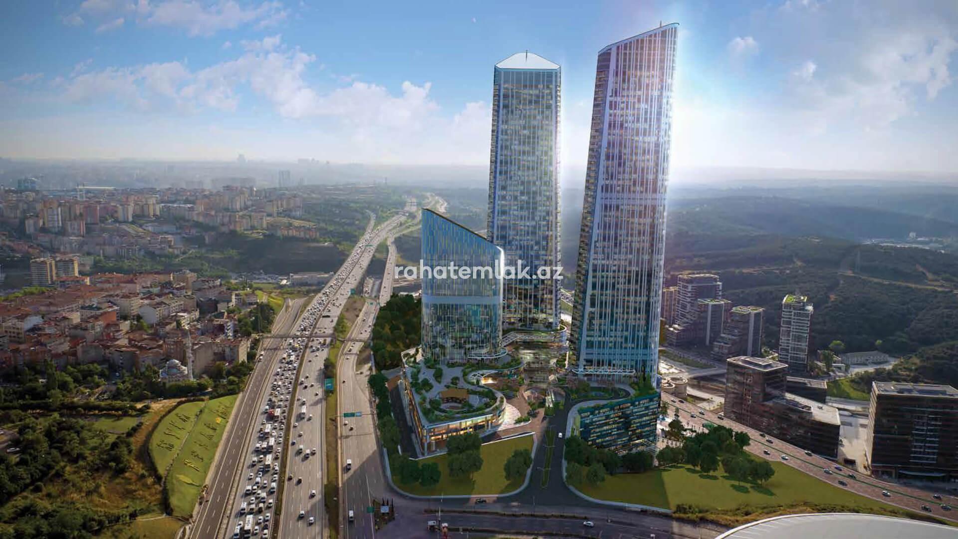 Istanbul's tallest skyscraper residence