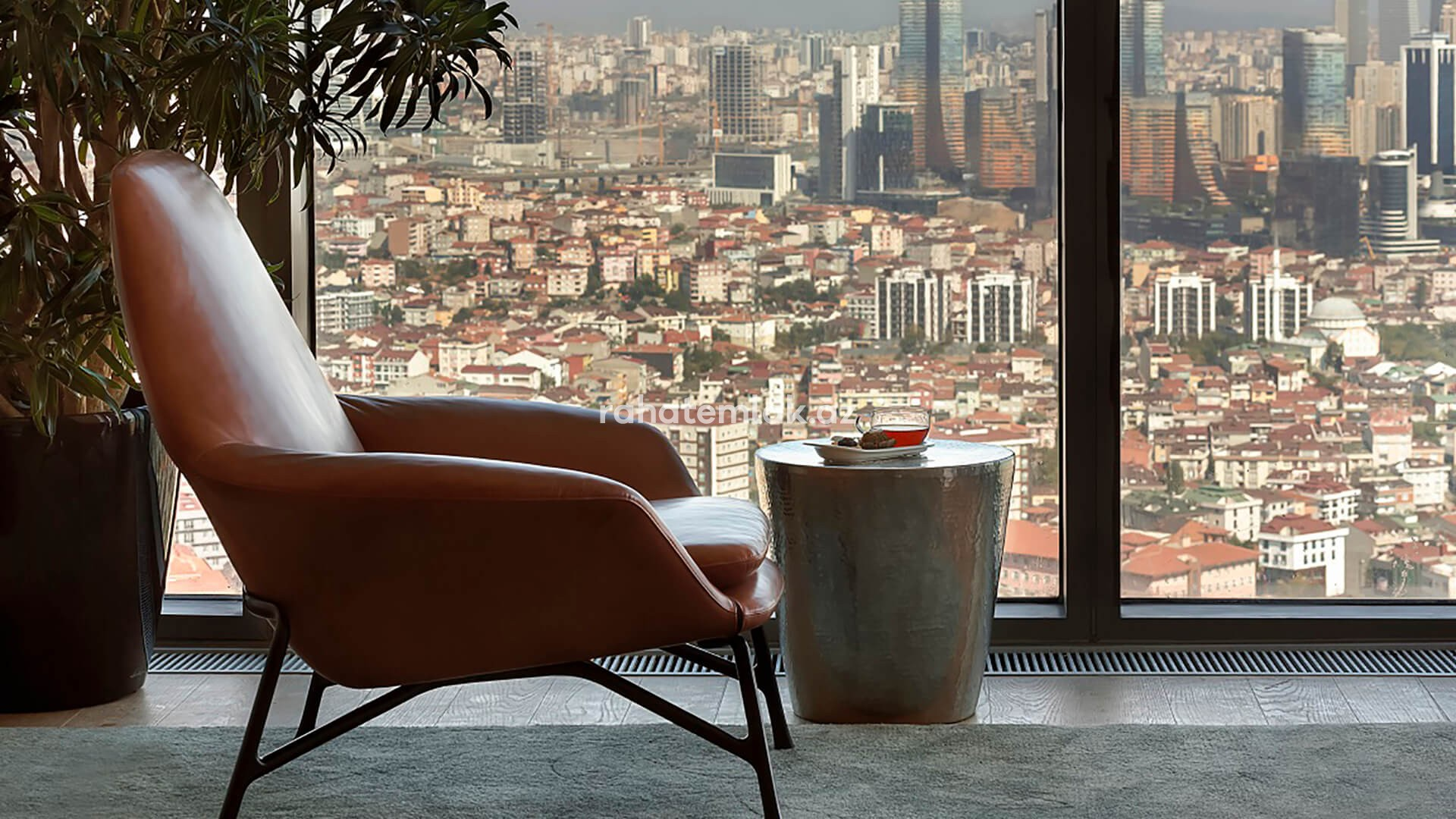 A new silhouette of Istanbul - stunning islands, sea and city views
