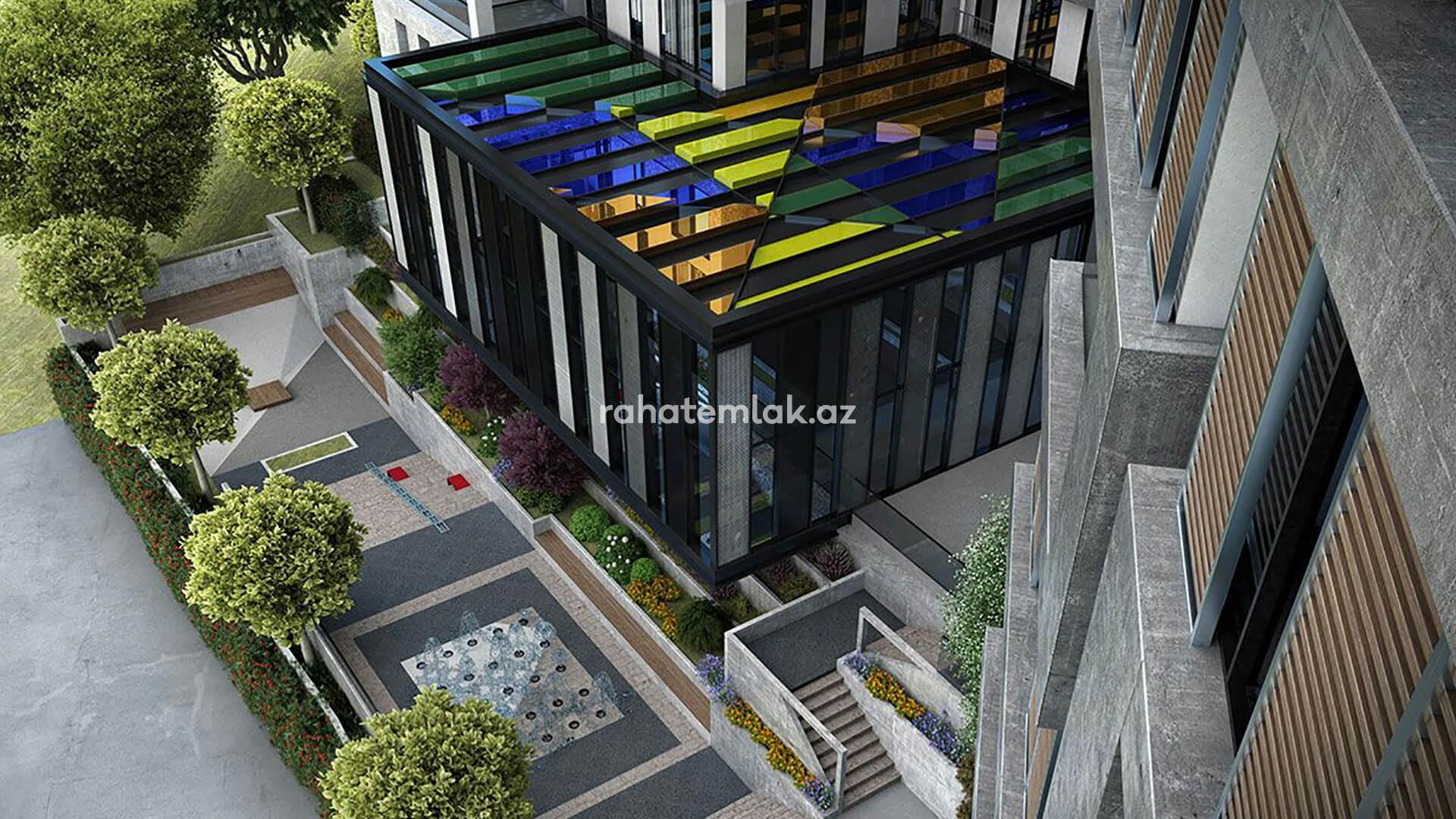 Biznes mərkəzindən cəmi 10 dəqiqəlik məsafədə yerləşən satış öncəsi investisiya qoya biləcəyiniz yaşayış kompleksi