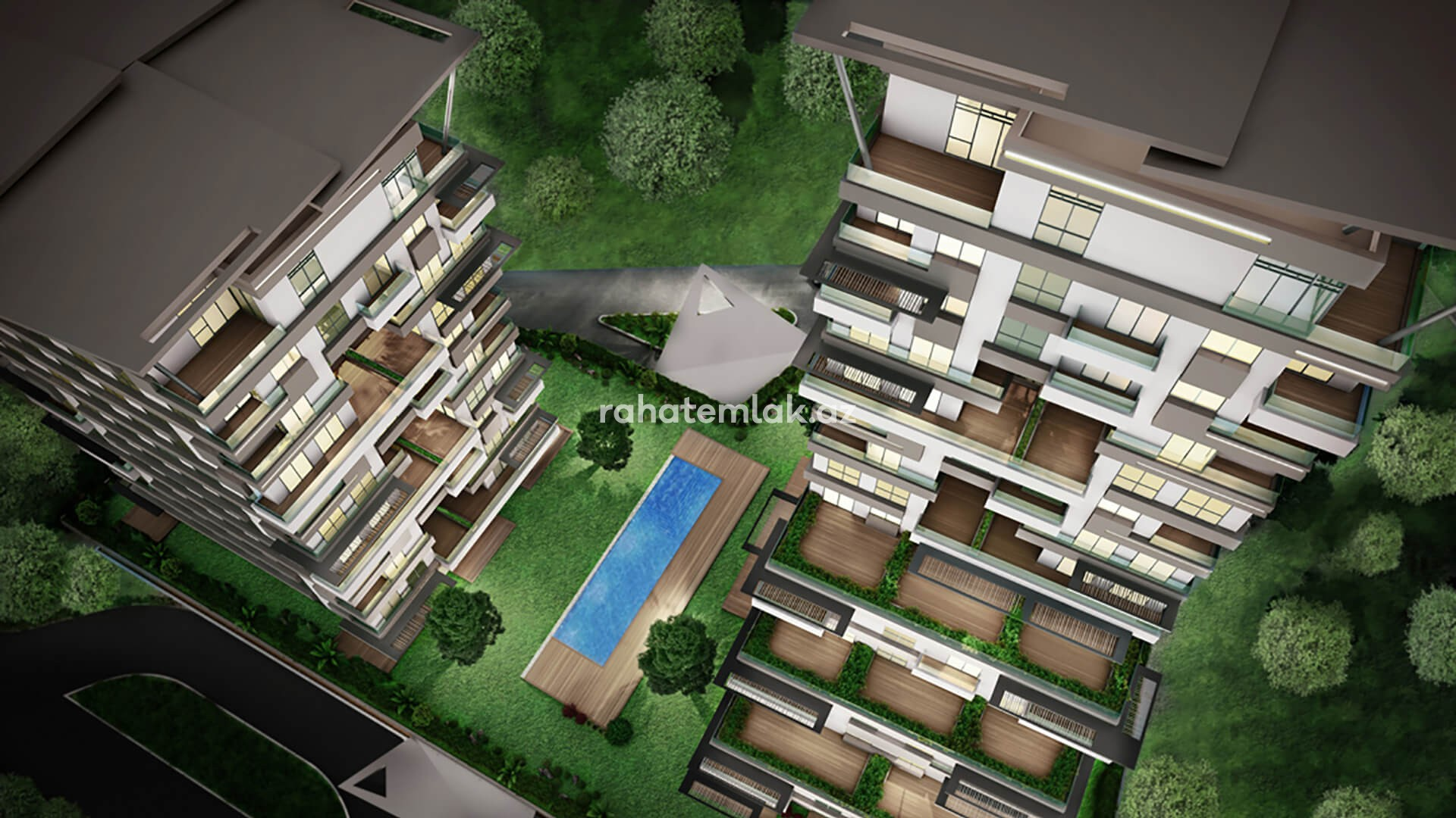 Full secure family complex in Kagithane regeneration zone